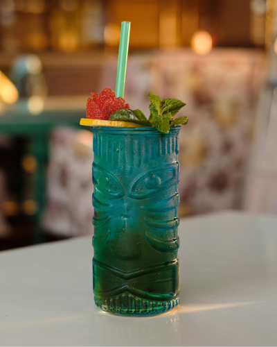 Mai Tai green tiki glass rum cocktail recipes