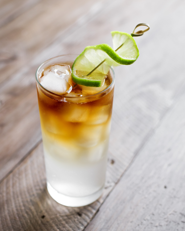 Dark and Stormy Cocktail Ginger Beer Rum Recipe Bitters