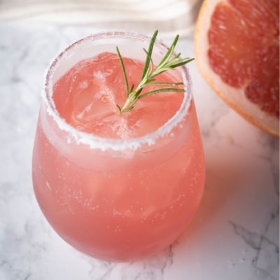 Paloma Cocktail Recipe Glass Pink Alcoholic
