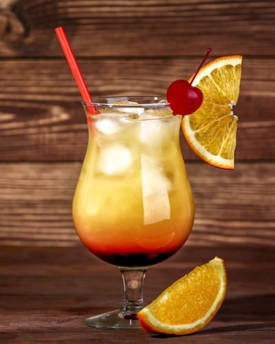 Tequila Sunrise Recipe Orange Juice Grenadine