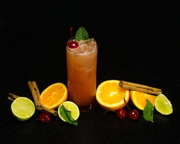 Fruit Juice Cocktail Rum Pineapple Orange Lime