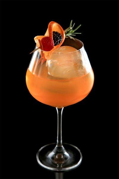 Citrus Stunner Sideshow Pete Cocktail vodka orange mandarin_