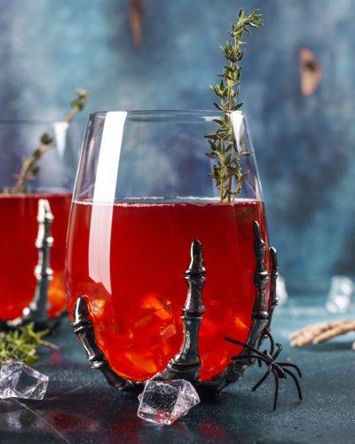 nightmare negroni campari vermouth jagermeister halloween