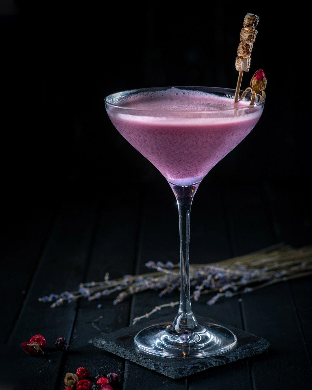 Ube Martini